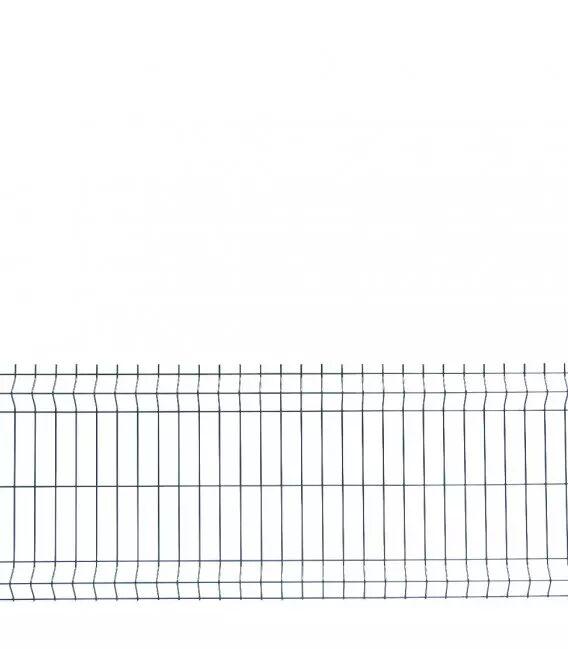 Panneau Grillage Rigide - Couleur - Vert 6005, Gamme - Pro+ (fil en 5mm), Hauteur - Ht 0m63