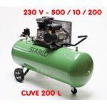 dema  Dema Compresseur 200 L bi cylindre Compresseur professionnel 230... par LeGuide.com Publicité