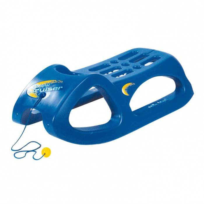 Rolly Toys Luge Snow Cruiser bleue