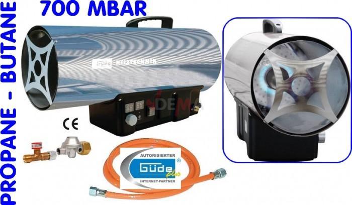 Guede Chauffage d'atelier - Canon à air propane-butane GGH 35 TRI