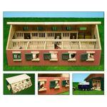 Dema Ecurie 9 boxes en bois - 620 x 425 x 220 mm  Dema Ecurie 9 boxes en... par LeGuide.com Publicité