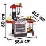dema  Dema Cuisine CHEFTRONIC avec 19 accessoires SMOBY Une cuisine compacte... par LeGuide.com Publicité