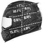 icon  ICON Airframe Statistic Black Le casque intégral par LeGuide.com Publicité