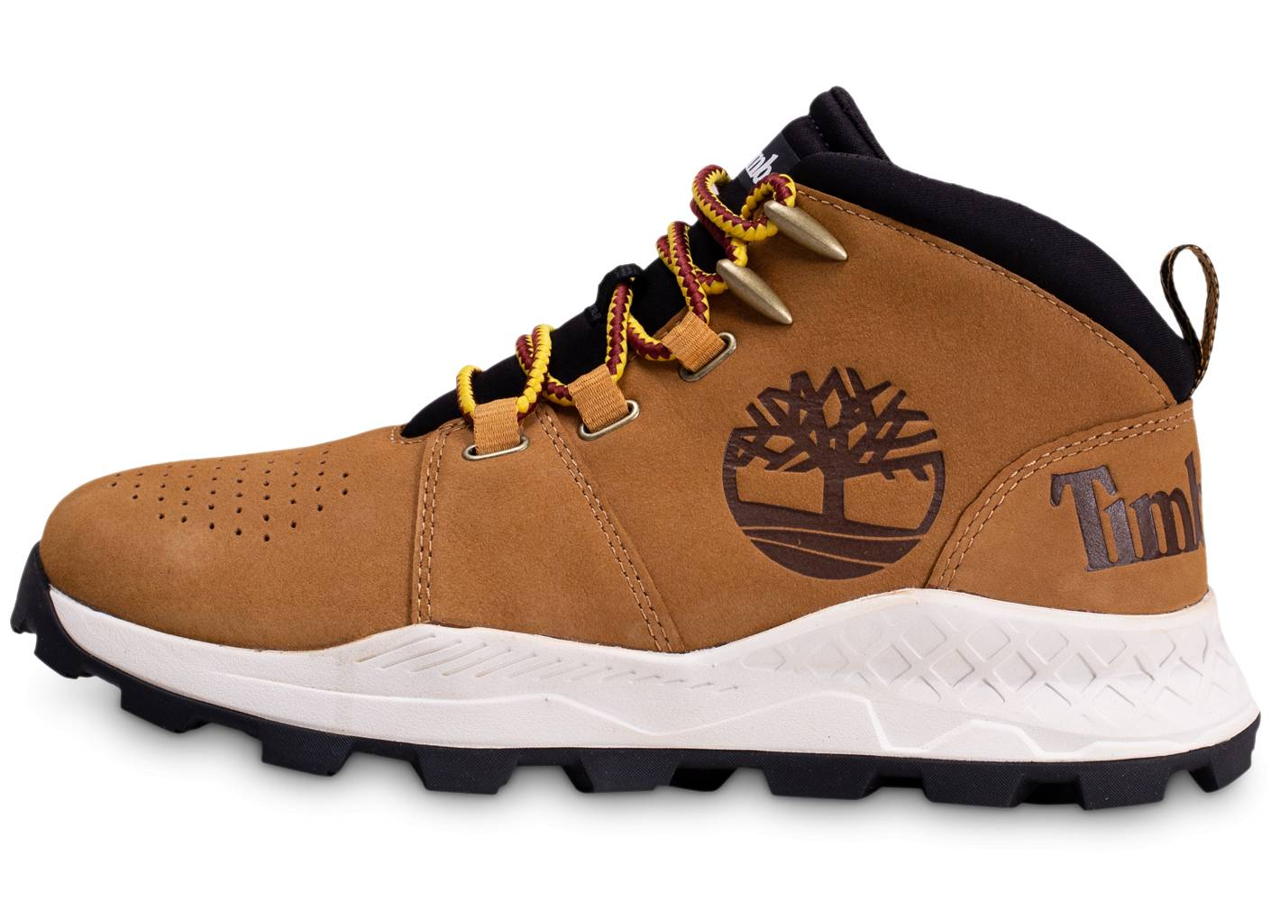 Timberland Homme Brooklyn City Mid Marron Boots 43