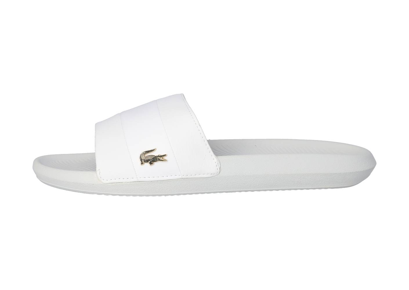 Lacoste Homme Sandales Croco Blanches 44 1/2