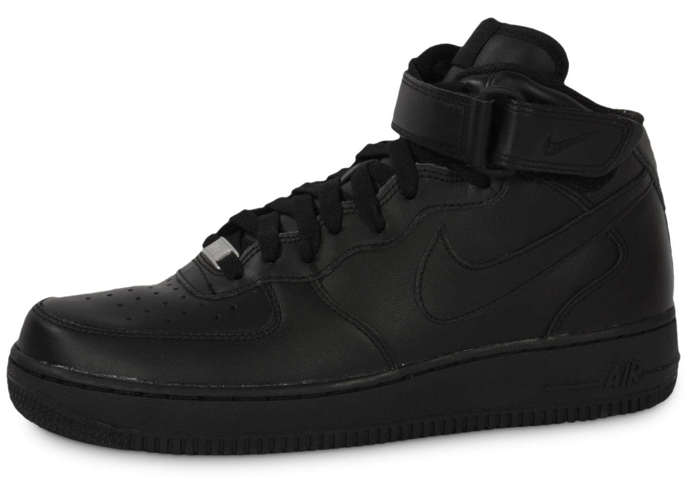 Nike Homme Air Force 1 Mid 07 Noire Baskets 42