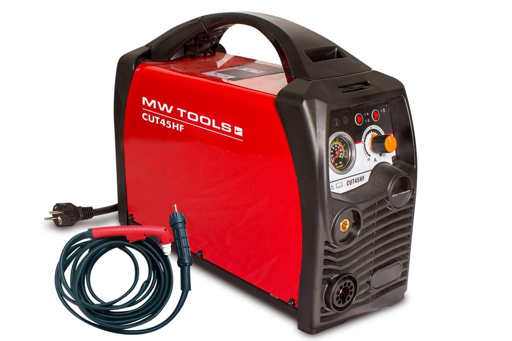 Mw-tools Découpeur plasma portable 45 A MW-Tools CUT45HF