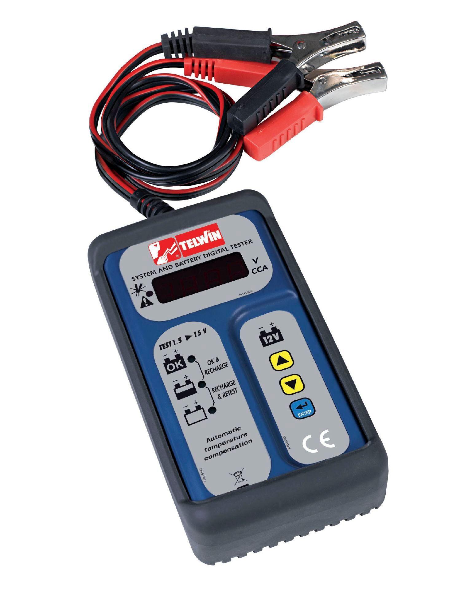 Telwin Testeur de batteries digitale LCD Telwin 802665