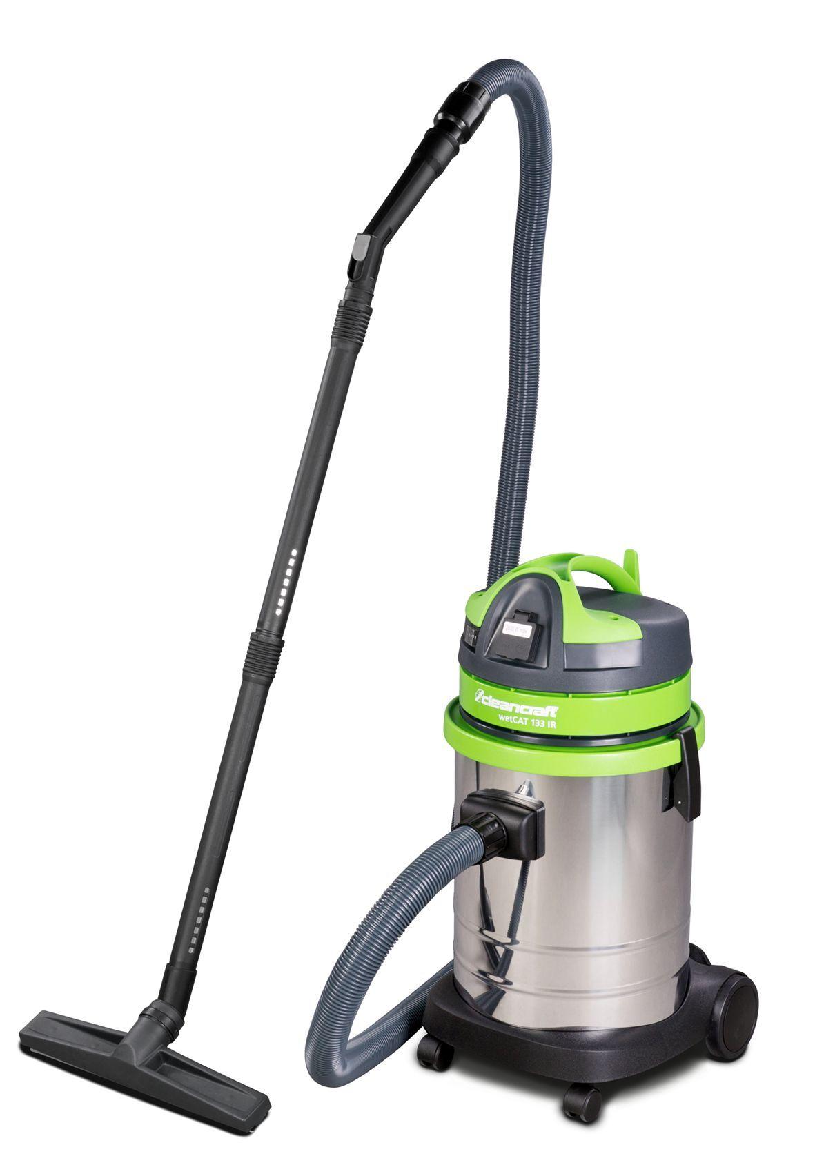 Cleancraft Aspirateur sans sac industriel 2300W, 33L (eau et poussière) Cleancraft WETCAT 133 IR