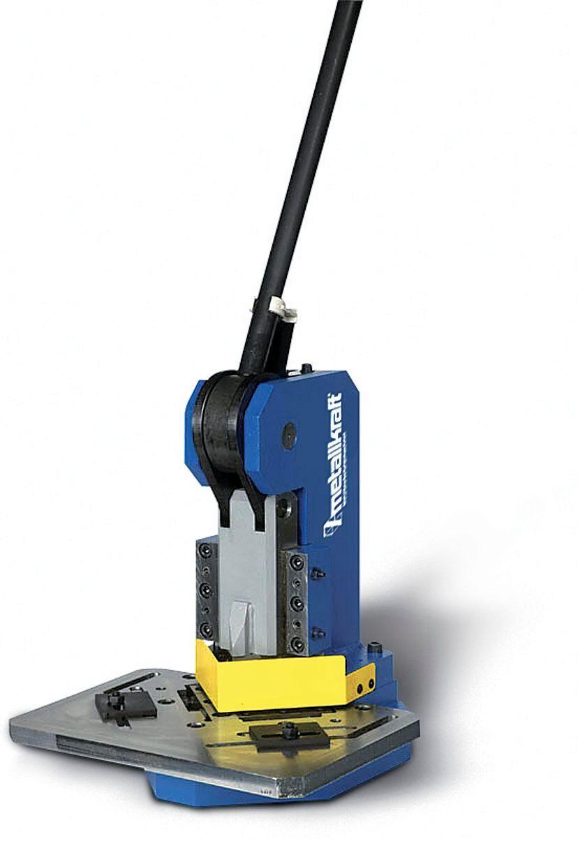 Metallkraft Encocheuse manuelle jusque 3 mm Metallkraft AKM100T