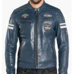 DAYTONA73 Blouson cuir homme bleu style moto  101282  Blouson cuir pour... par LeGuide.com Publicité