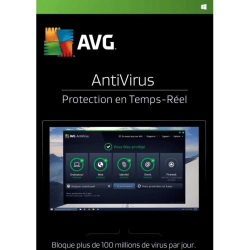 Avg Antivirus 2020 1 Appareil 1 An