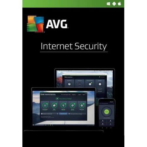 Avg Internet Security 2020 3 Appareils 2 Ans
