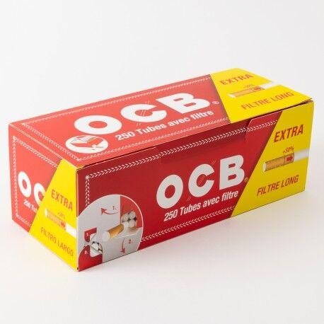 Ocb Boîte 250 tubes OCB filtre extra long