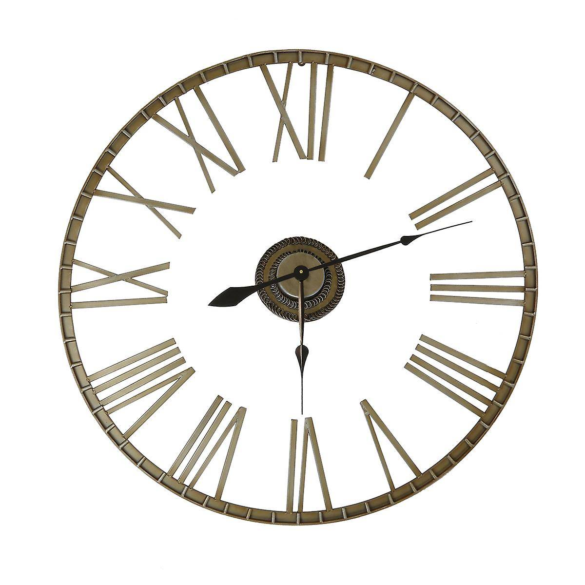 Charles Bentley Extra Large 95cm Extérieur Skeleton Wall Horloge Br...