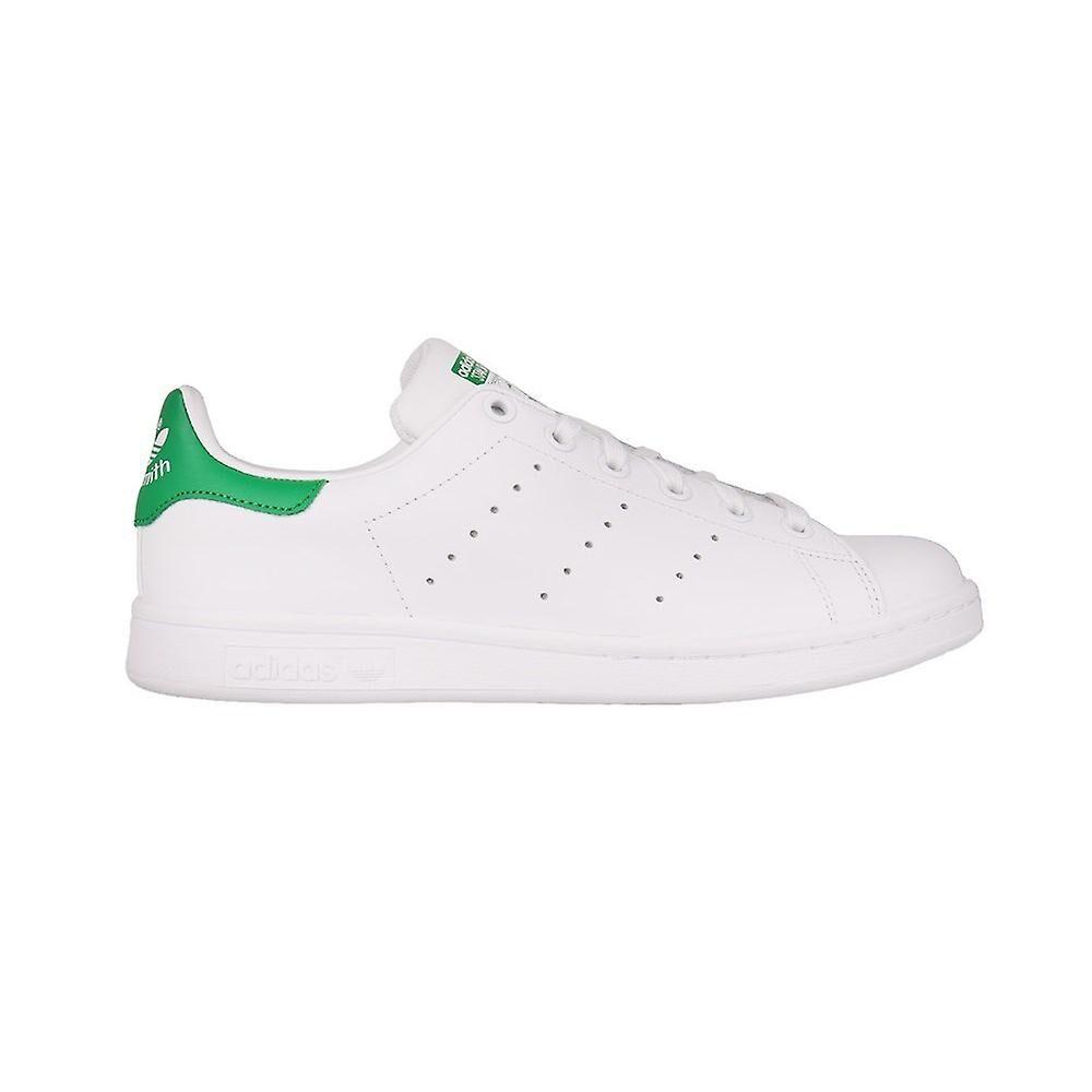 Adidas Stan Smith B24105 chaussures universelles pour femmes d'été blanc/vert 3.5 UK / 5 US / 36 EUR / 22.5 cm