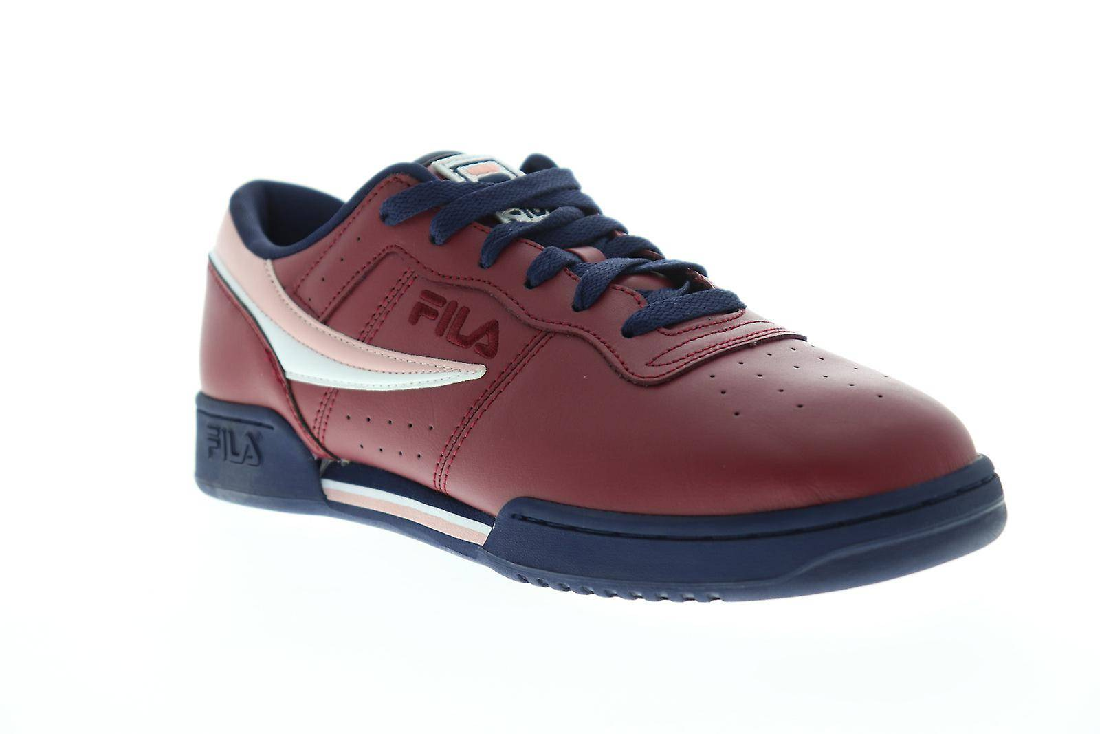Fila Chaussures Fila Original Fitness Mens Red Casual Low Top Sneakers