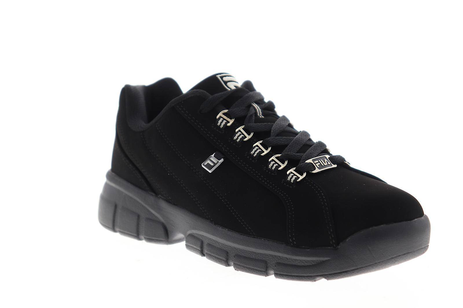 Fila Exchange 2K10 Hommes Noir Synthétique Low Top Sneakers Chaussures
