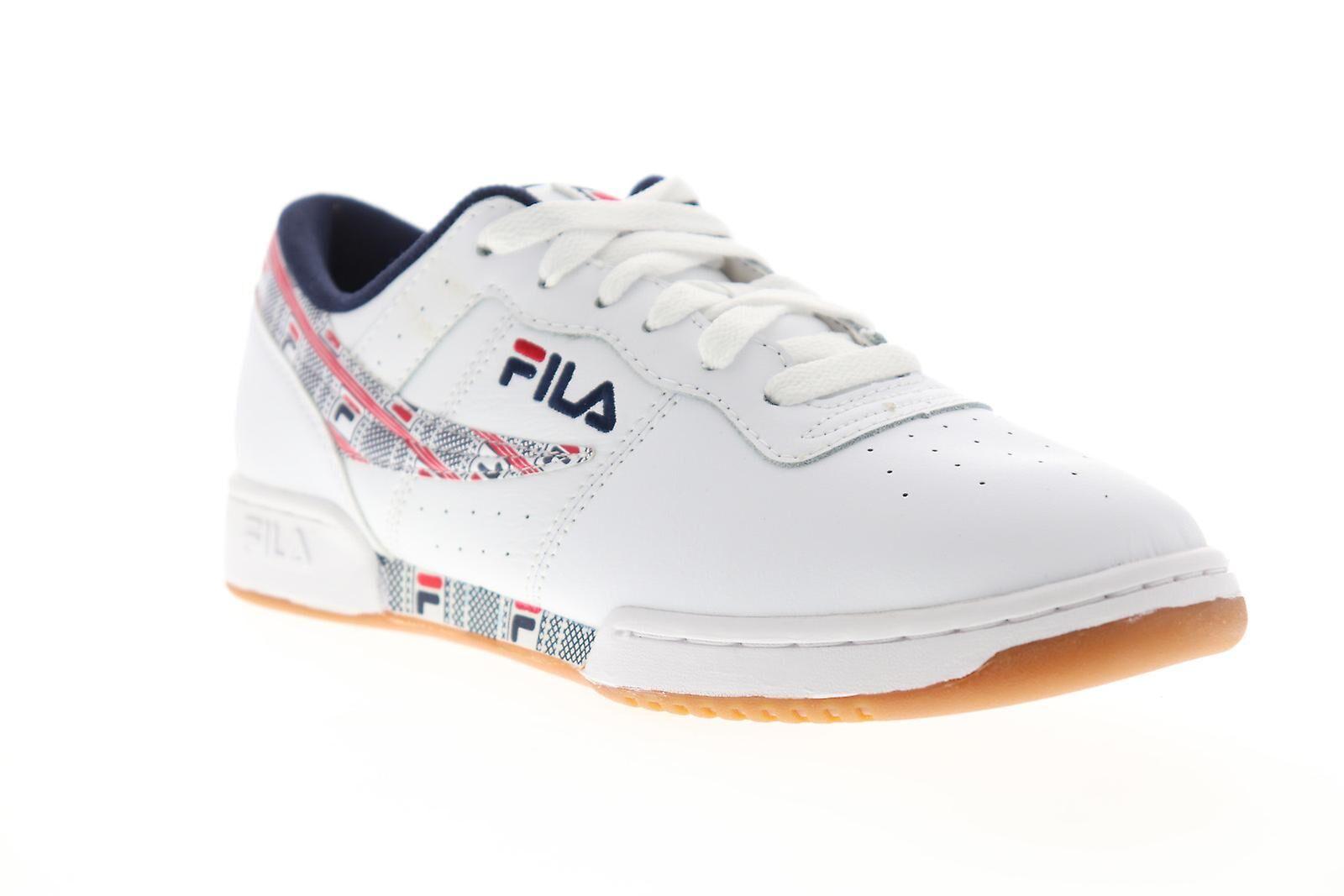 Fila Chaussures Fila Original Fitness Haze Mens White Casual Low Top Sne...