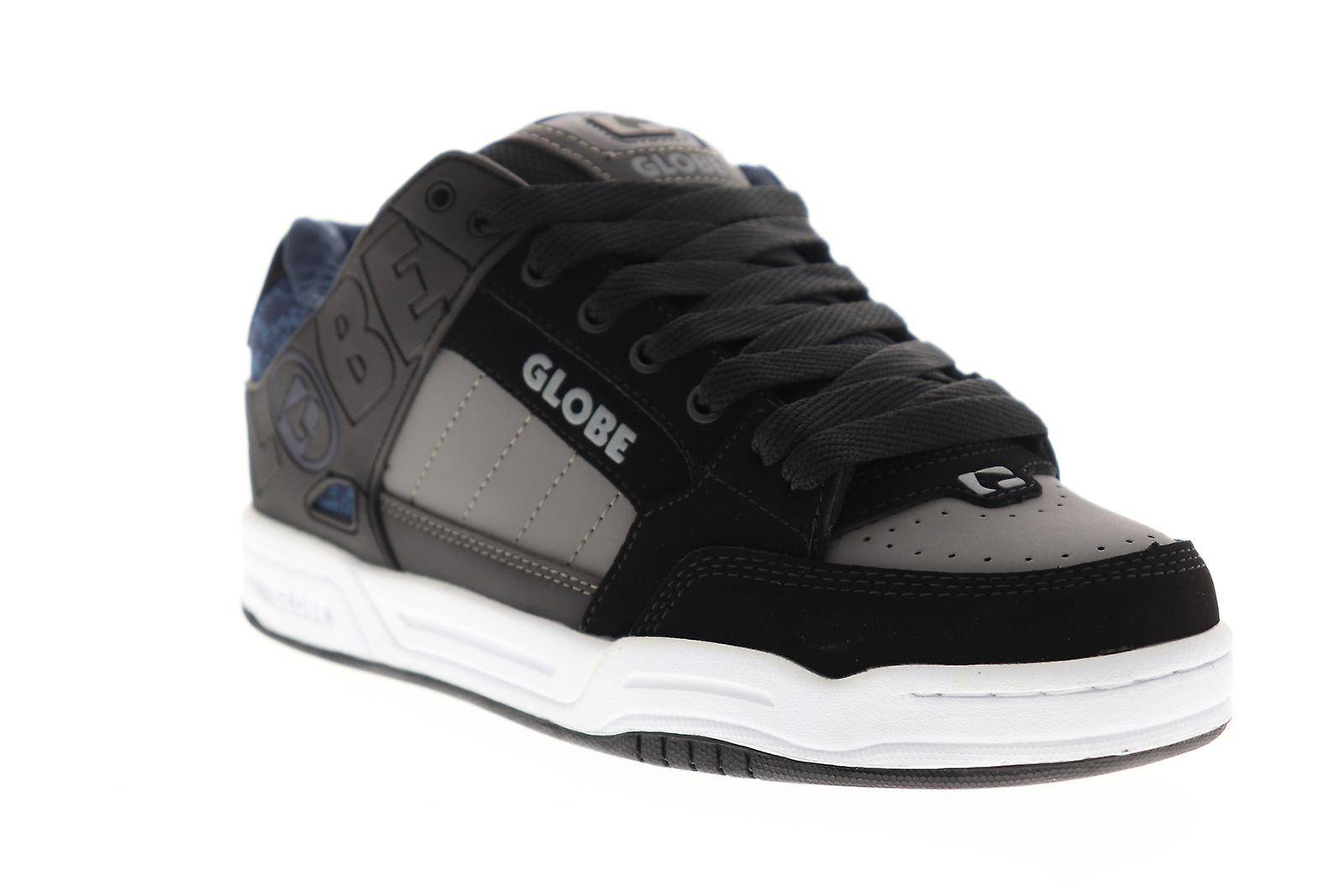 Globe Tilt Hommes Noir Synthétique Athletic Lace Up Chaussures de s...