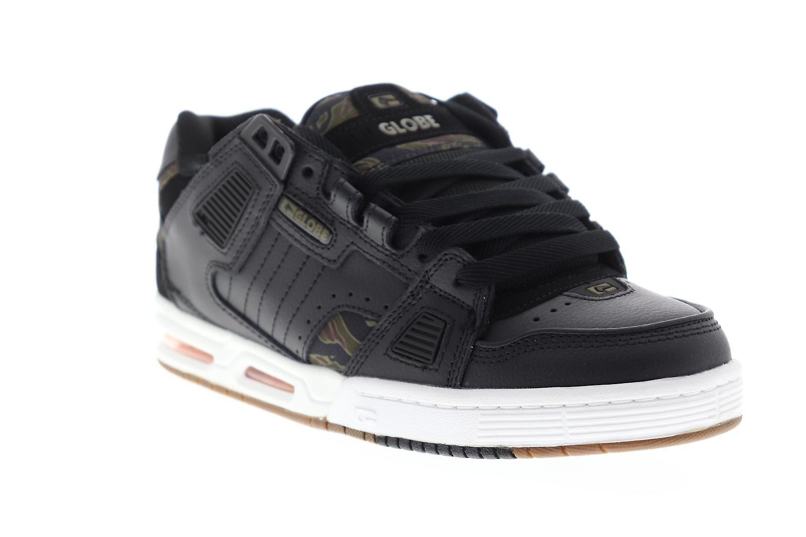 Globe Sabre Hommes Noir Synthétique Athletic Lace Up Chaussures de ...