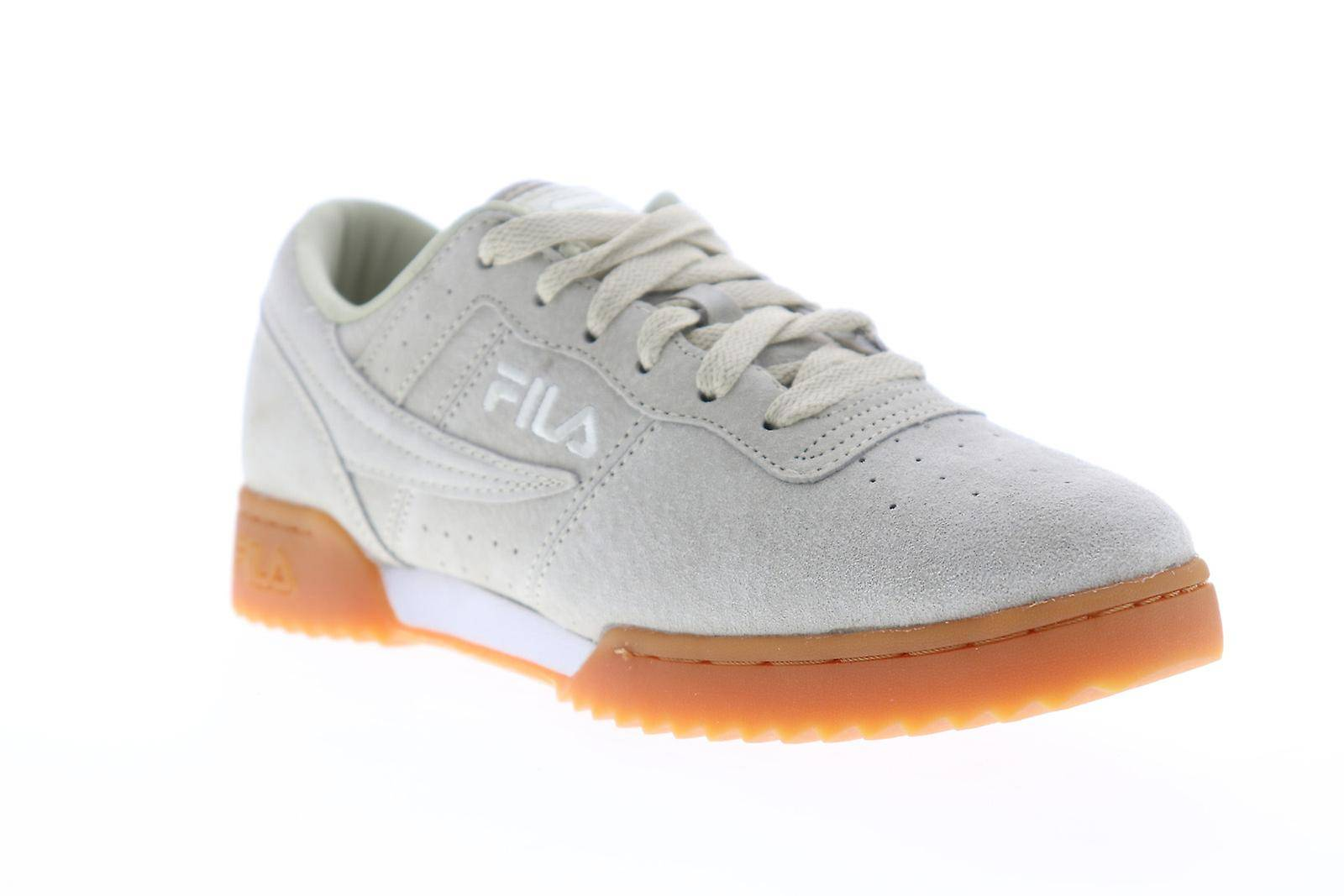 Fila Original Fitness Ripple Mens Gray Suede Casual Low Top Sneaker...