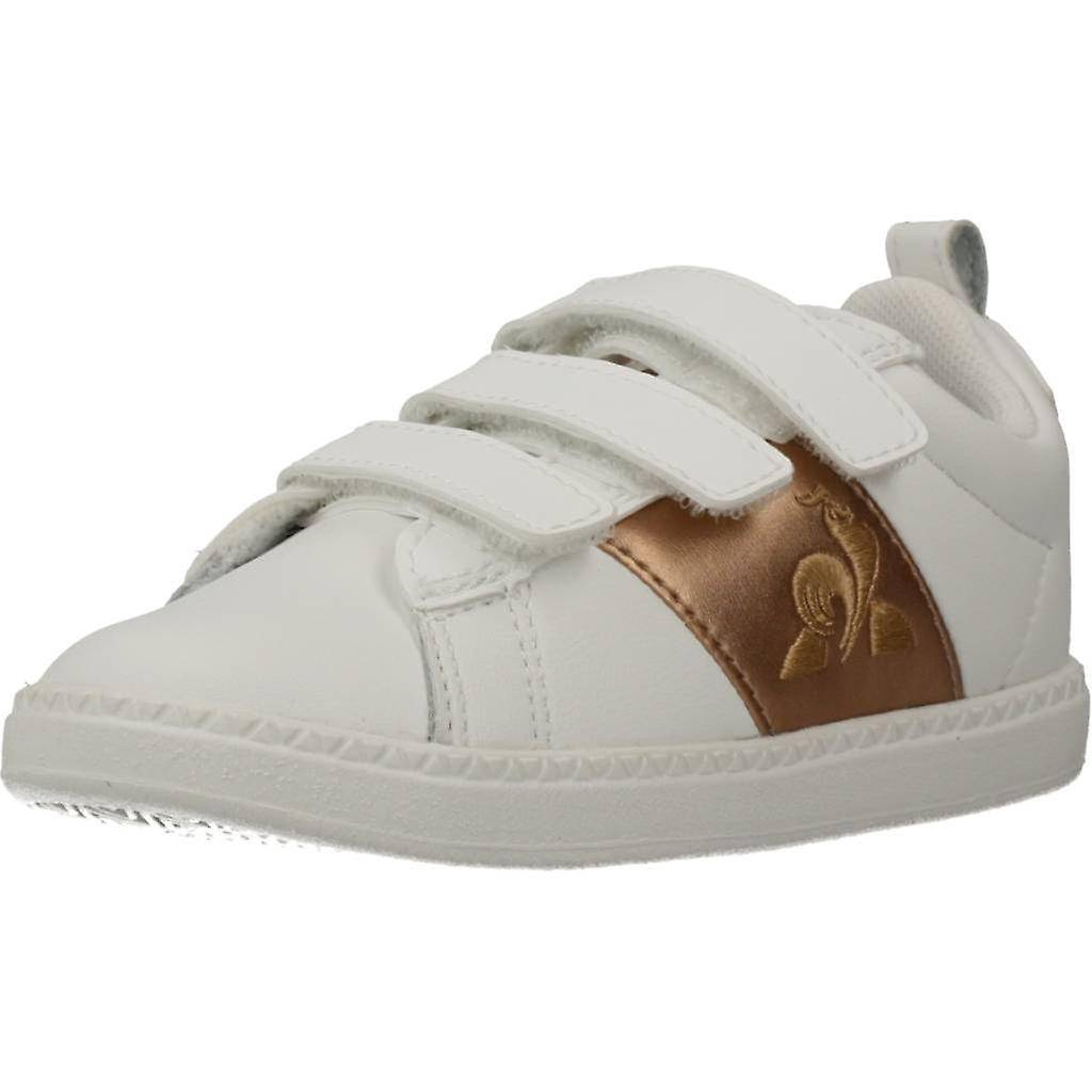 Le Coq Sportif Courtclassic Inf Girl Color Opticwht Chaussures Blanc EU 21