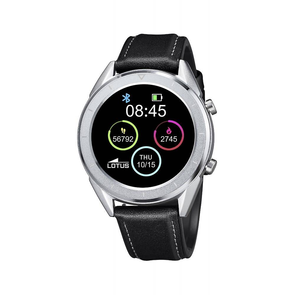 Lotus L50008-3 Smartime Black Strap Smartwatch En acier inoxydable