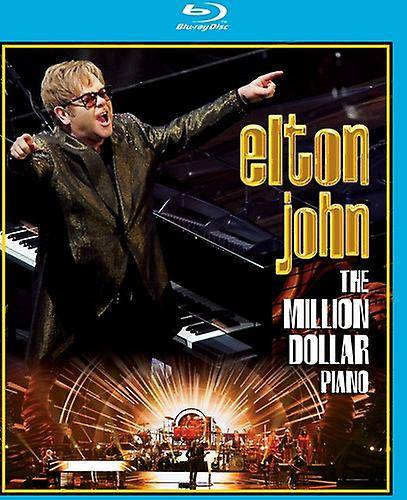 EAGLE ROCK Elton John - importation USA Million Dollar Piano [BLU-RAY]