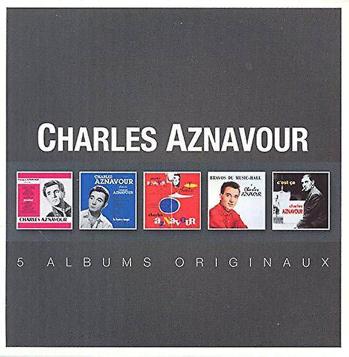 PID Charles Aznavour - importation USA Original Album série [CD]