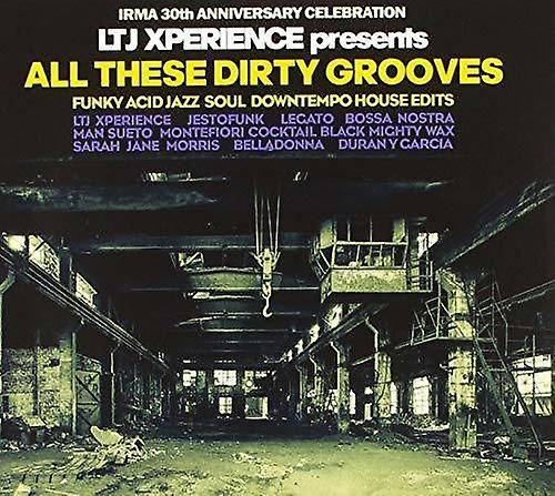 PID All These Dirty Grooves [CD] Usa import