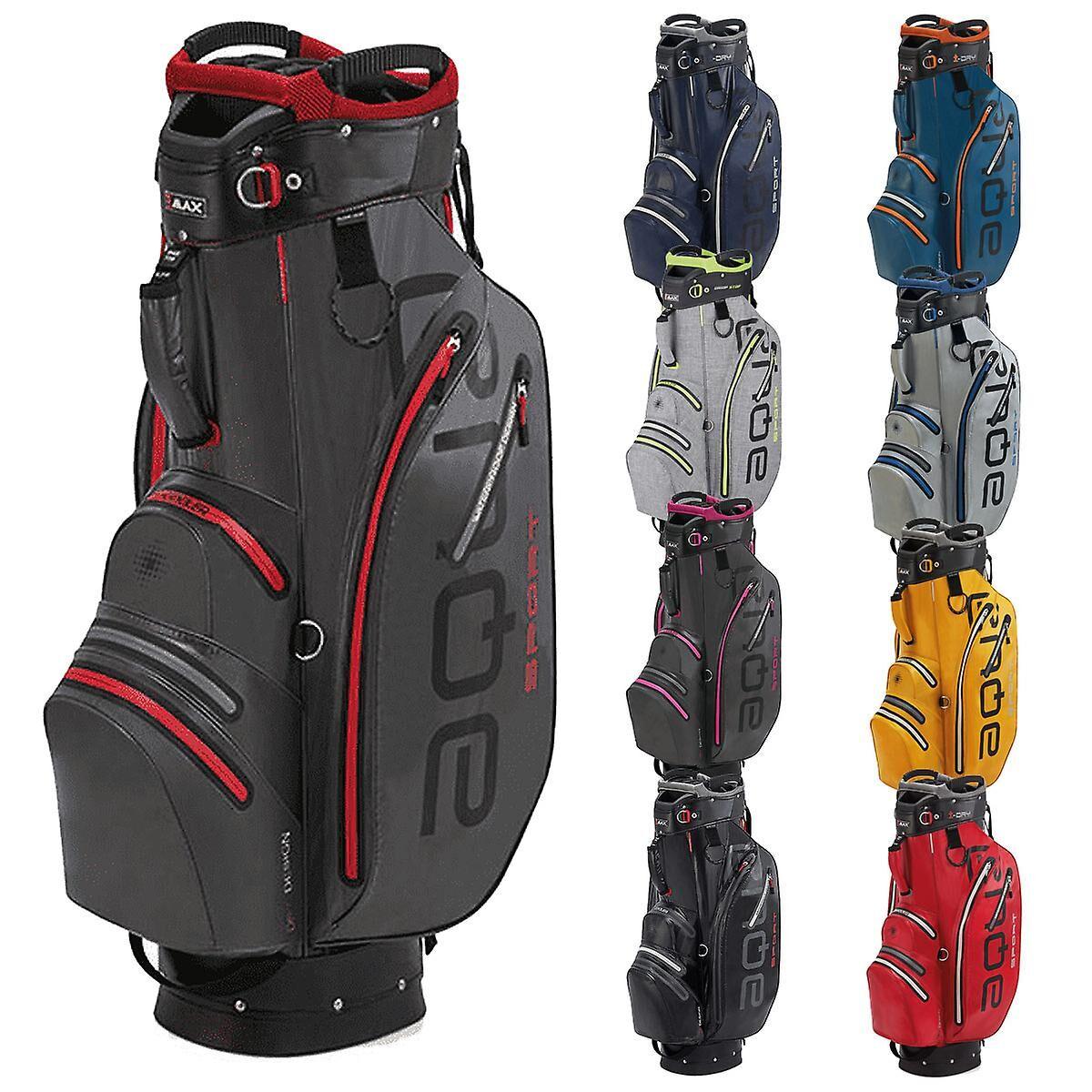 Big Max Unisex Aqua Sport 2 Sac de golf léger imperméable à l'eau Rouge One Size