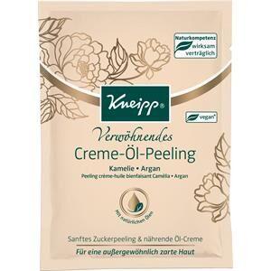 Kneipp Soin Soin du corps Huile crème exfoliante apaisante 40 ml