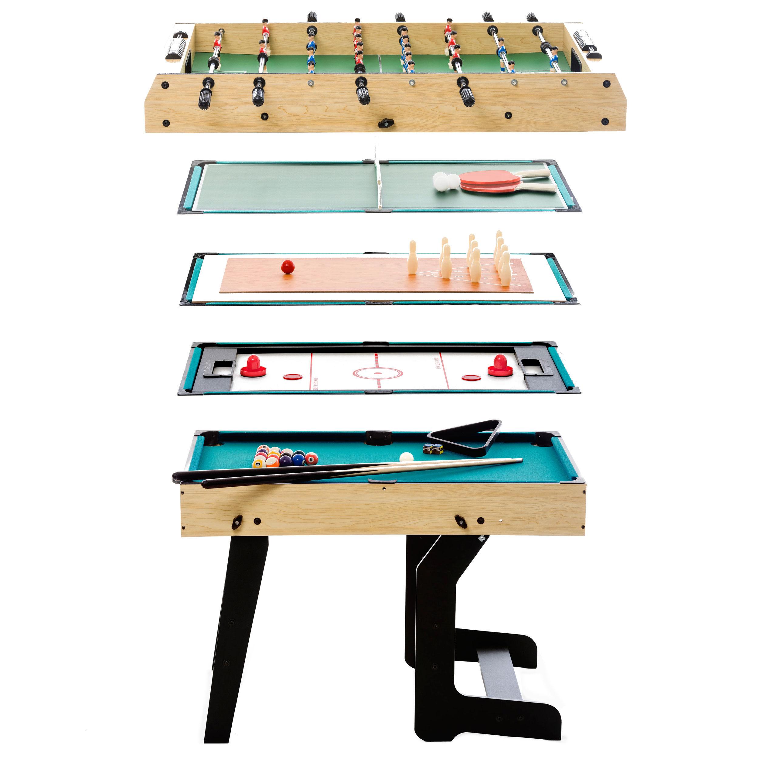 Rendez vous déco Table multi-jeux pliable 16 en 1