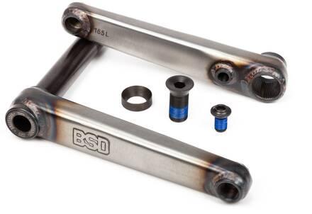 BSD Substance Freestyle Pédalier BMX (Flat Raw)