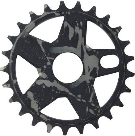 Mankind Couronne BMX Mankind Sunchaser Freestyle (Black/Grey - 25T)