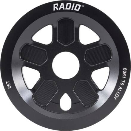 Radio Bike Co Couronne BMX Radio Leon Hoppe Signature 47 Guard (Noir - 25T)