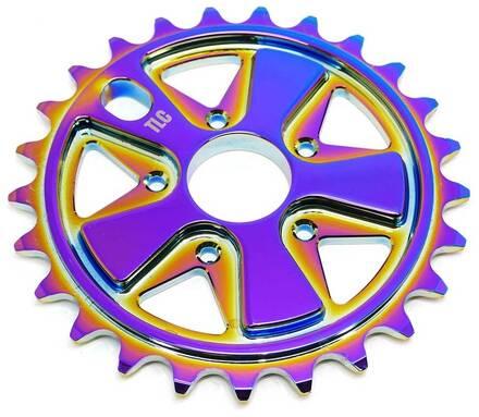 TLC Couronne BMX TLC Vintage 5-Spoke (Rainbow - 25T)