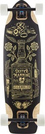 Landyachtz Longboard Complet Landyachtz Gambler (Brun)
