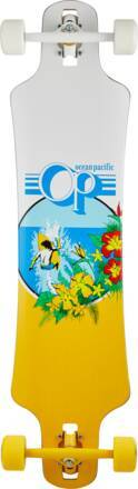 Ocean Pacific Longboard Complet Ocean Pacific Drop Through (Blanc)