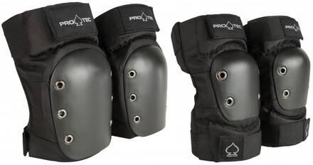 Pro-Tec Street Protections Roller Pack de 2 (Noir)