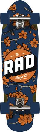 RAD Skateboards Cruiser Skate Complet RAD Cherry Blossom (Navy)