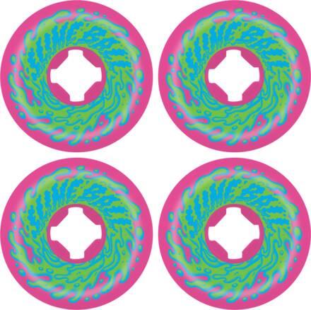 Santa Cruz Slime Balls Vomit Double Face Pack de 4 De Chez Santa Cruz (56mm - Rose)