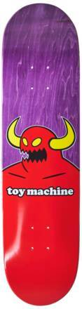 Toy Machine Planche De Skate Toy Machine Monster (Violet/Rouge/Jaune)