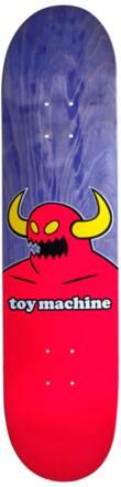 Toy Machine Planche De Skate Toy Machine Monster (Bleu-vert/Rouge/Jaune)
