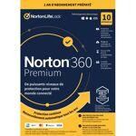 Symantec Norton 360 Premium 2020 - 10 Appareils 1 An Livraison immédiate... par LeGuide.com Publicité