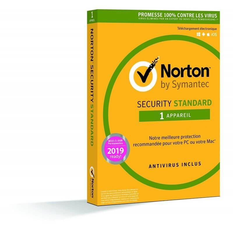 Symantec Norton Security Standard 2020 - 1 Appareil