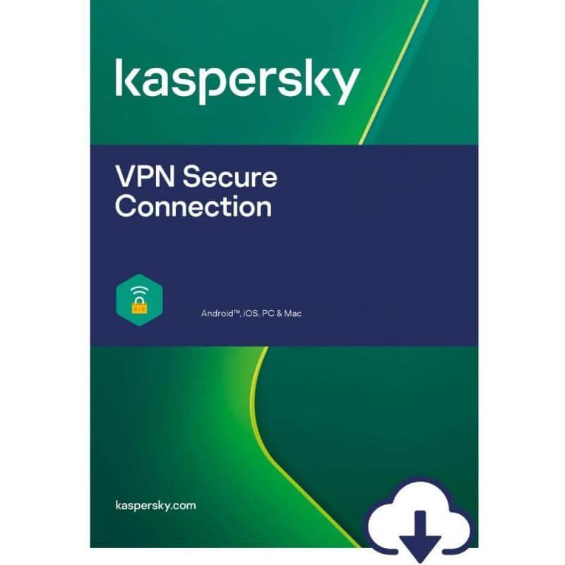 Kaspersky Vpn Secure Connection 2022 - 5 Appareils  - 1 An