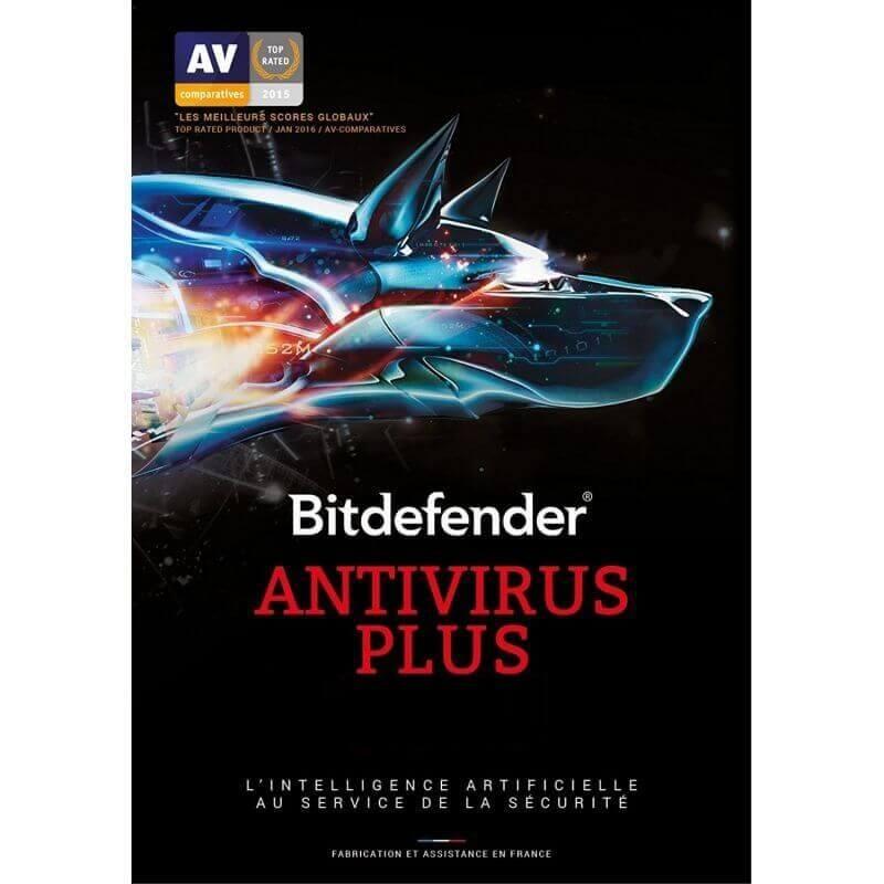 Bitdefender Antivirus Plus 1 Appareil 1 An