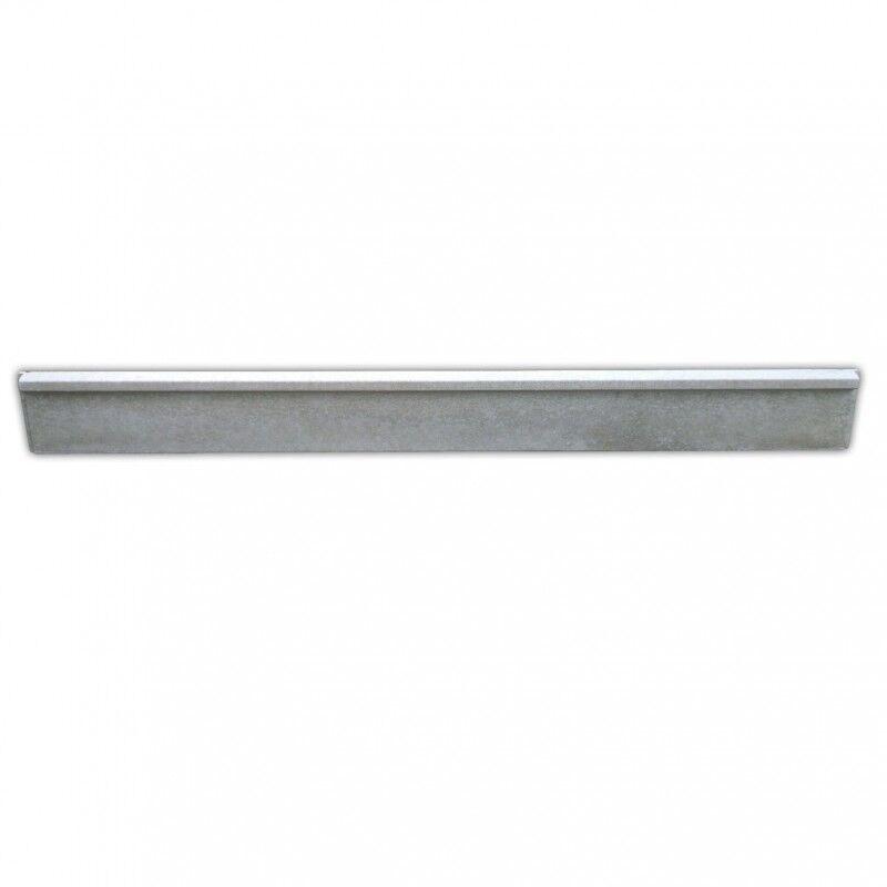 MEHAT Plaques béton GRIF ou CLIP longueur 2,50m (Dimension plaque béton : Plaque pour poteau GRIF 2525 x 250 x 38mm - 59kg)
